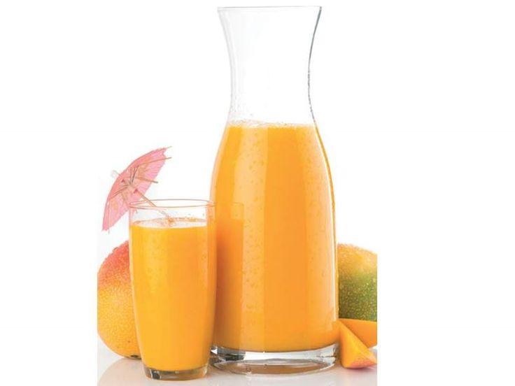 Mango-Hindistan cevizi suyu