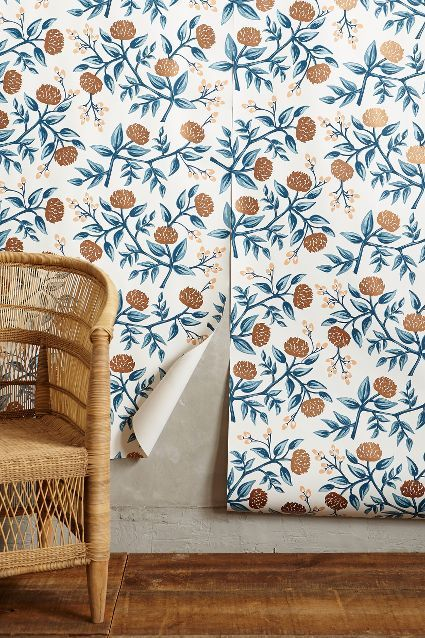 Peonies Wallpaper - anthropologie.com