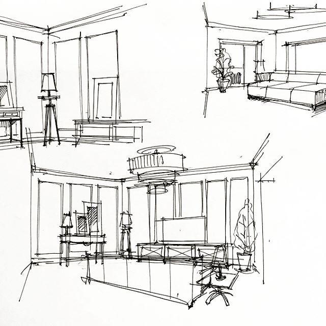 Starting Point Fastsketch Sketch Interior Interiordesign