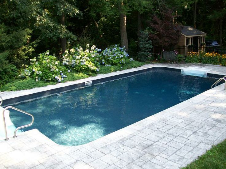 Image Result For Grey Vinyl Pool Liner Dark Bottom Pools