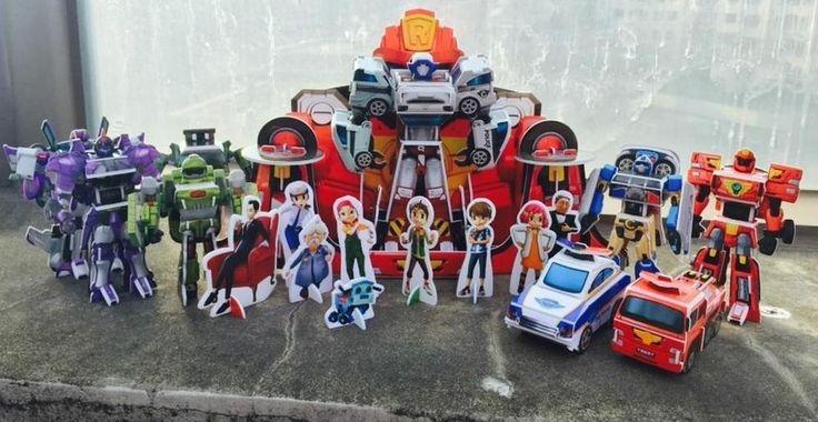 Tobot Quadrant 3D Puzzle DIY Book Do It Yourself Child Transformer Jigsaw Boy  #SamsungPublishingCoLtd