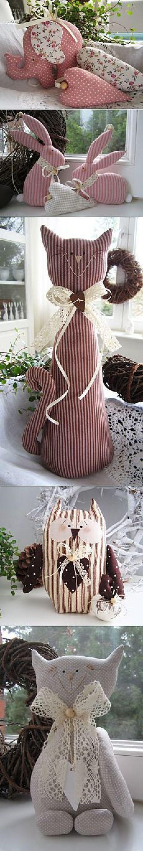 Meu Mundo Craft: Bichinhos de Pano e amor   Sewing   Craft and Love