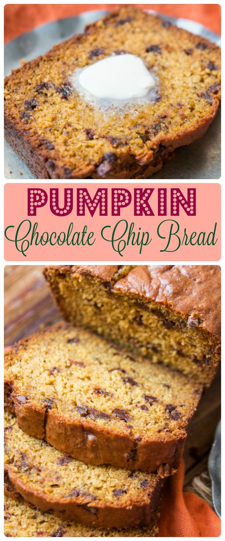 25+ best ideas about Pumpkin chocolate chip bread on Pinterest ...