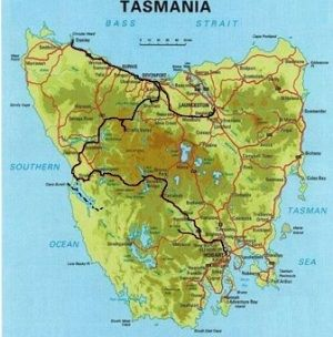 22 March - Cullenswood, Tasmania has its record rainfall.
