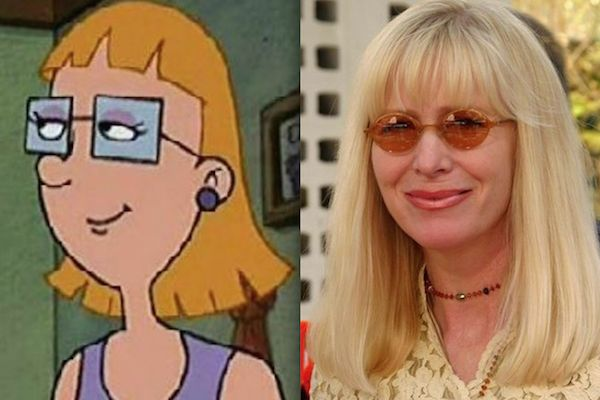 """Kath Soucie voiced Miriam Pataki on """"Hey Arnold!"""" Description from mandatory.com. I searched for this on bing.com/images"""