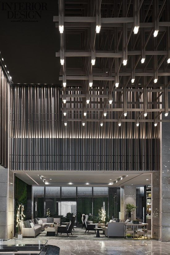 New Town - Shandong Greenland International Finance Center IFC Exhibition Center - American Interior Design Chinese Network