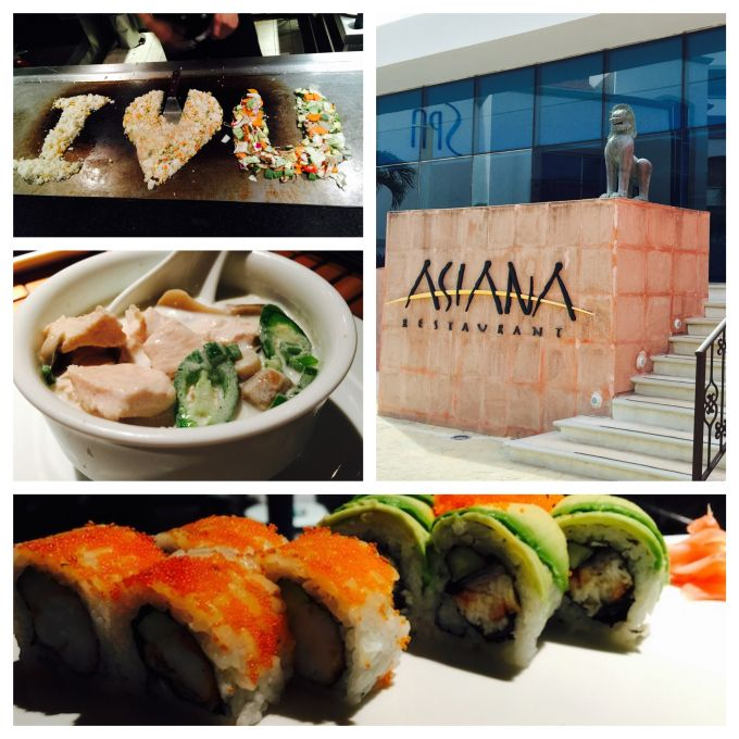 Asiana at Hyatt Zilara Cancun via Food Blogger, Cinfully Simple