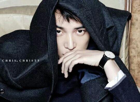 Korean model for chris christy