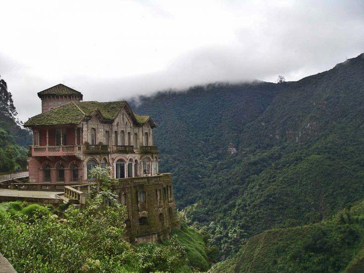 15заброшенных мест, окоторых нерасскажут Заброшенный отель Refugio ElSalto вКолумбии