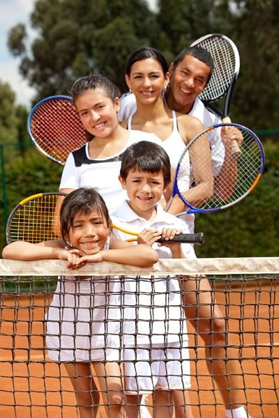 oxshott-tennis-family