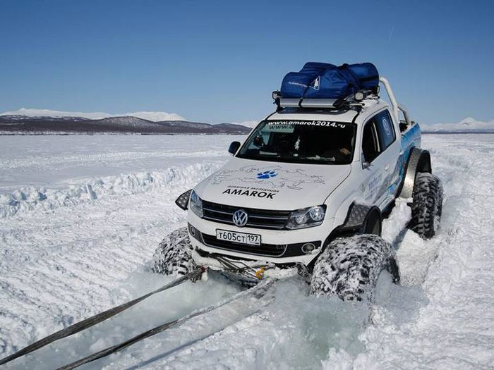 Volkswagen'den Soçi Kış Olimpiyatları'na özel Amarok