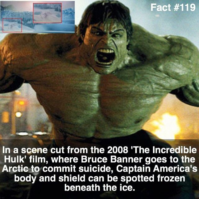 I guess I never watched the movie that closely. In a scene cut from the 2008…