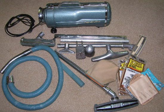 Vintage Electrolux Vacuum Cleaners | Details about Vintage Electrolux Canister Vacuum Cleaner Model E with ...