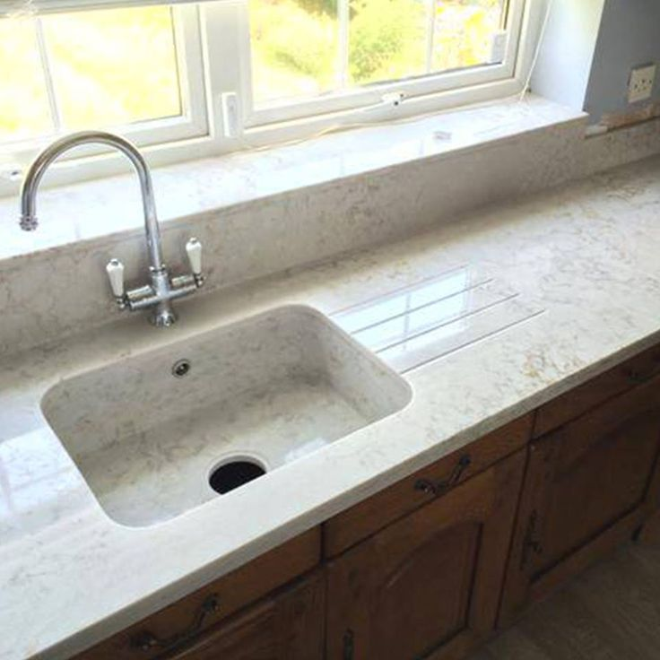 Newly installed silestone pulsar looks stunning with an for Silestone sink