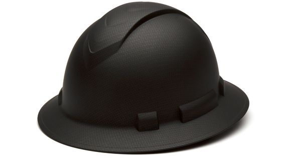 Pyramex HP54117 Ridgeline Full Brim Hard Hat - 4-Point Ratchet Suspension - Graphite Pattern In Stock Ready To Ship On sale now $22.95 one week only starting today