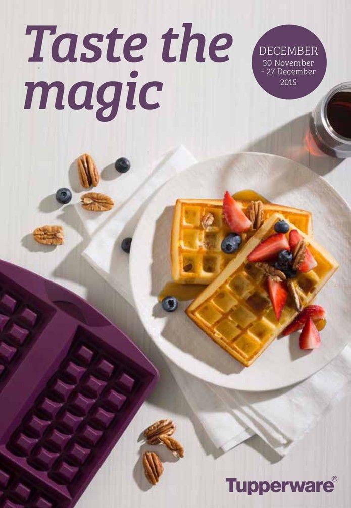 Taste the magic DECEMBER 30 November - 27 December 2015