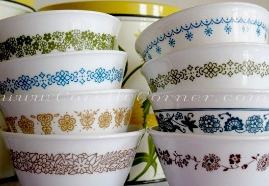 40 Best CorningwareCorellePyrexVintage Images On Pinterest Impressive Corningware Dishes Patterns