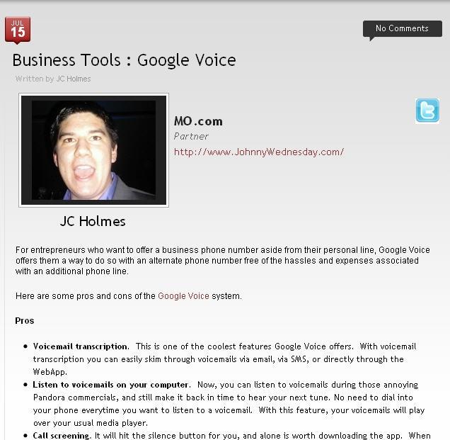 #MO.com article on Business Tools...    Like alot
