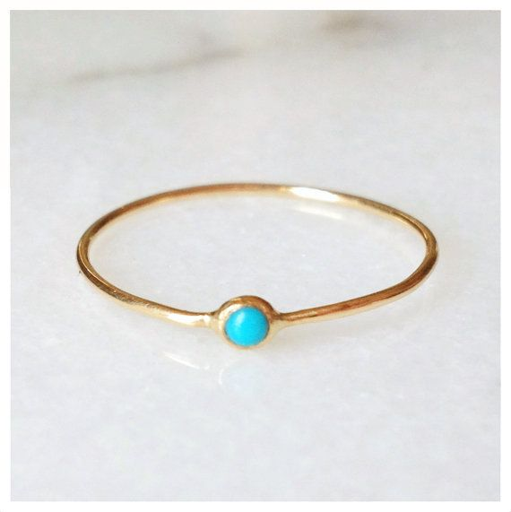 Turquoise Pip Ring by ClaireKinder on Etsy, $180.00