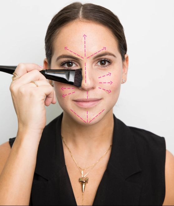 Der RICHTIGE Weg, um Ihre Foundation aufzutragen, plus andere Make-up-Geheimnisse, die niemand jemals …   – Beauty & Hair