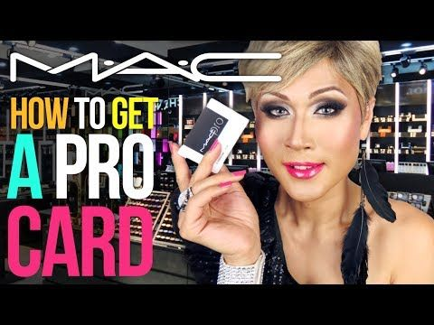 How-to: get the MAC Pro Card (for self-taught, freelance MUAs) - YouTube