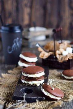 Готовим традиционное американское печенье «Вупи пай» | elle-craft — творчество со вкусом!