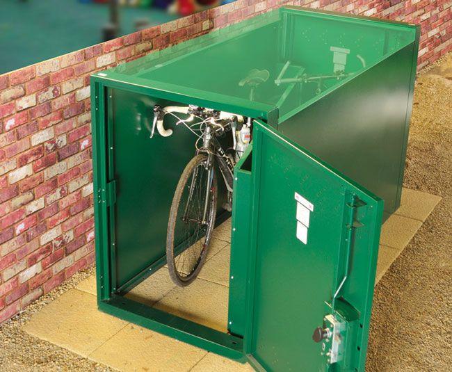 Double Ended Bike Locker