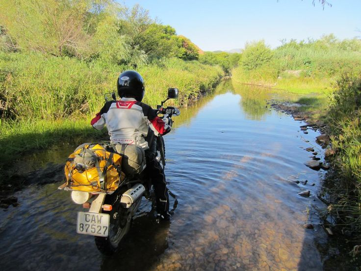 Discover Baviaanskloof and 20 passes on a motorbike.