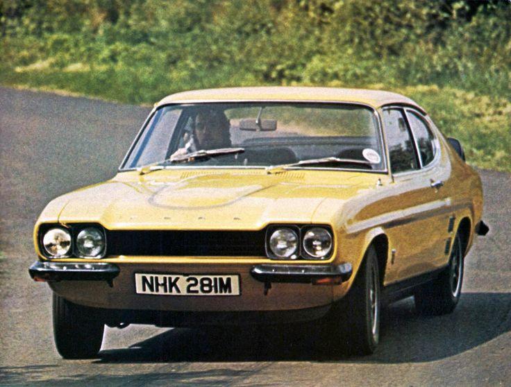 Ford Capri RS3100, 1974 press car 'NHK 281M' This Capri still exists in UK