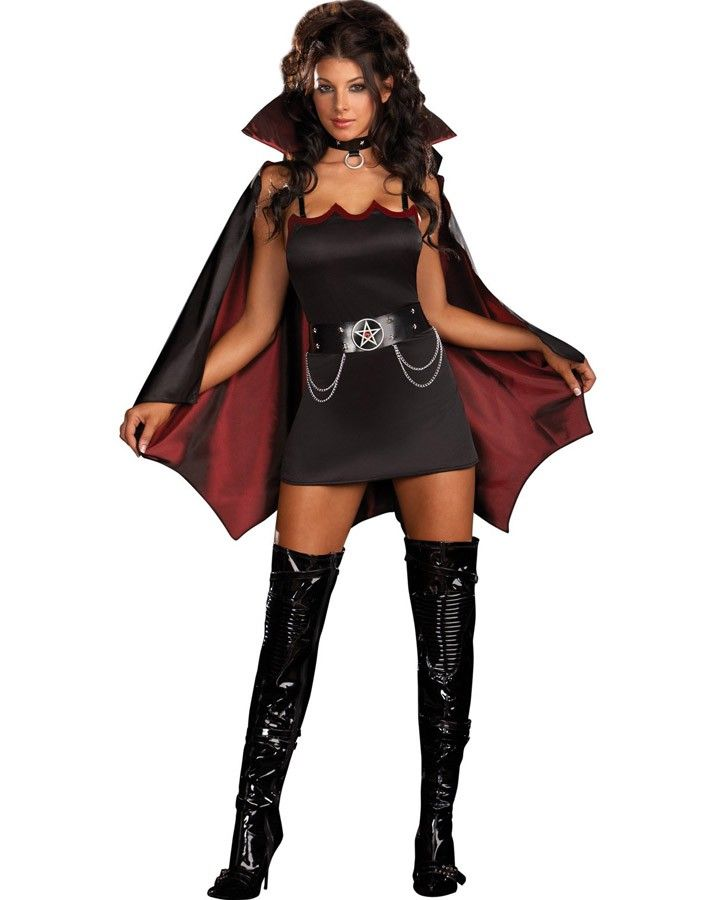 Fang Bangin Fun Vamp Womens Costume #Halloween2013