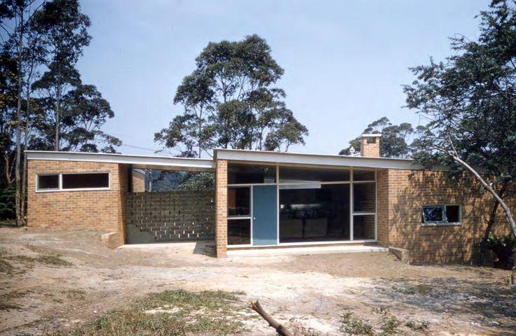 Exley House   Harry Seidler #exterior #original