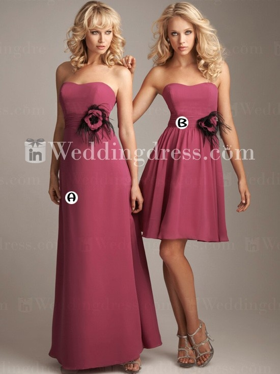 Beach Bridesmaid Gown With Side Draped Skirt Br353 Beach