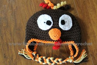 My Creative Side: Turkey Hat {FREE PATTERN}