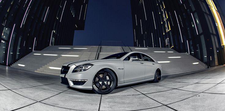 20 Zoll 6Sporz² ultralight forged Felgen an Mercedes CLS 63 AMG mit Tieferlegung und Leistungssteigerung auf 700 PS inkl. Auspuffanlage und Sportkatalysatoren