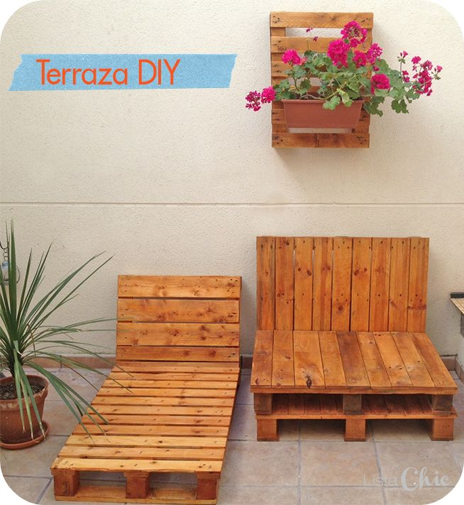 Diy decoraci n con pal sweet home decoracion de muebles pallet muebles y muebles - Sweet home muebles ...