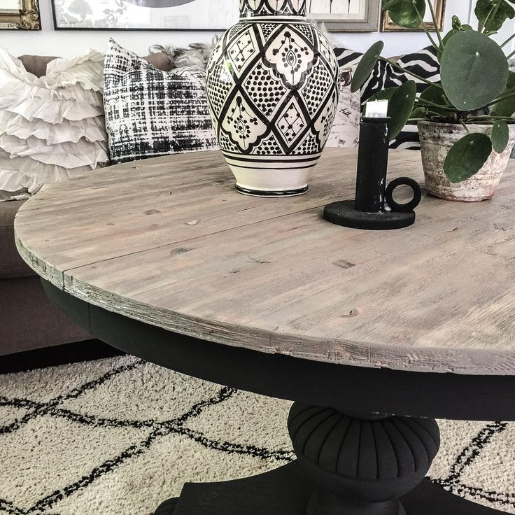 Salvaged table restored