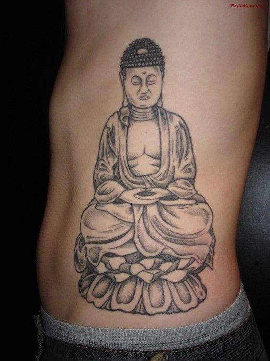 120 Mystical Buddha Tattoo Designs And Meanings cool  Check more at http://fabulousdesign.net/buddha-tattoos-meanings/
