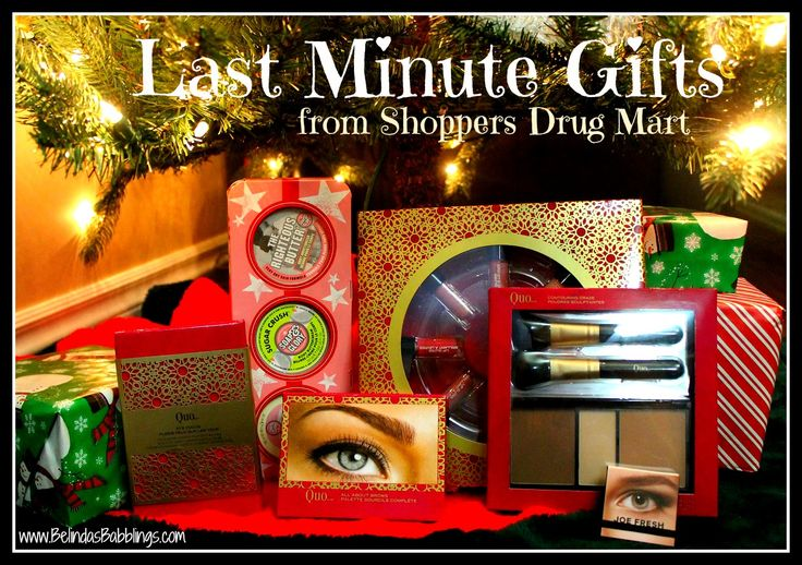 Last Minute Christmas Gifts from Shoppers Drug Mart