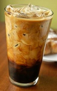 Easter Egg Iced Coffee  * Brew coffee  * While hot, add up to 5 of your favorite chocolate candies.  Peeps are great!  * Find a tall glass  * Fill with ice  * Pour hot coffee over ice  * Add a dollop of whip cream on top  * Enjoy!