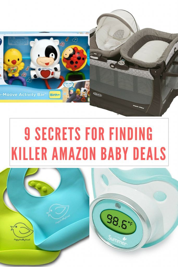 9 secrets for finding killer amazon baby deals