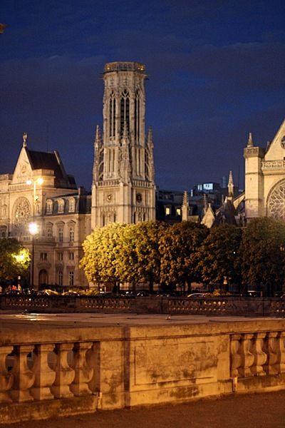 Paris: Things French, Paris At Night, Paris France, St Jacques, Tours Saint, Places, France Paris, Summer Night, Towers Of Paris Paris Fr