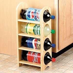 2 Liter Bottle Rack Review At Kaboodle Wood Crafts Page