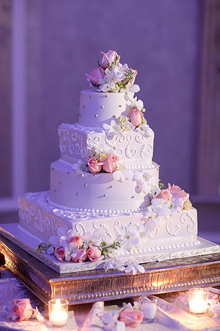 25 Jaw-Dropping Beautiful Wedding Cake Ideas - MODwedding