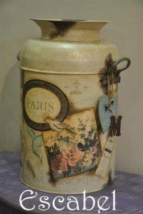 SERVILLETAS DECOUPAGE