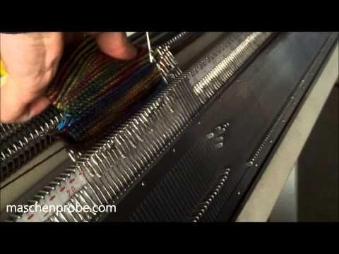 Носки Strickmaschine: Socken ohne Naht und Ferse ohne Loch - YouTube