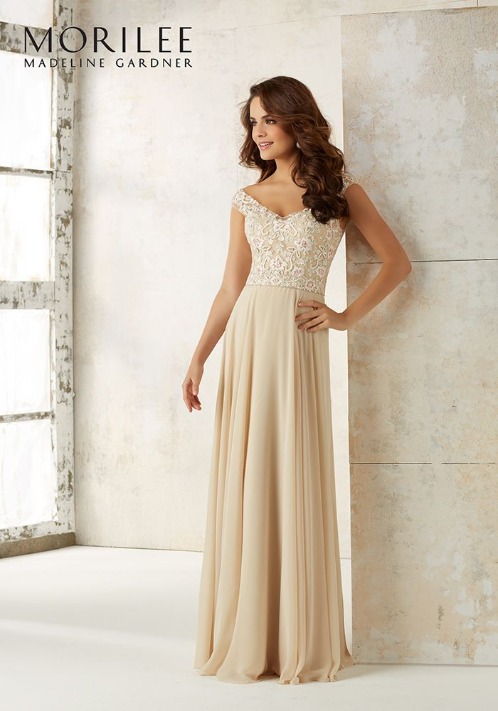 2c1a7acac1 Gold bridesmaid dresses will give your best girls instant glamour