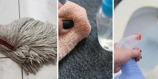 Ev Temizliğinde Sirke Kullanımı