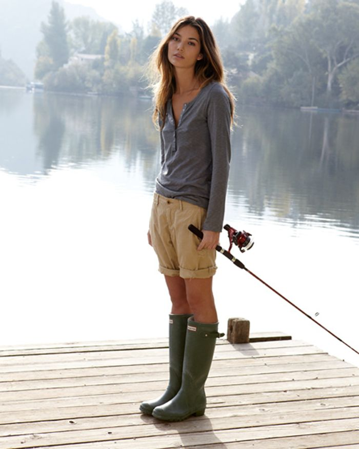 1000  images about HUNTER BOOTS! on Pinterest | Lily aldridge ...