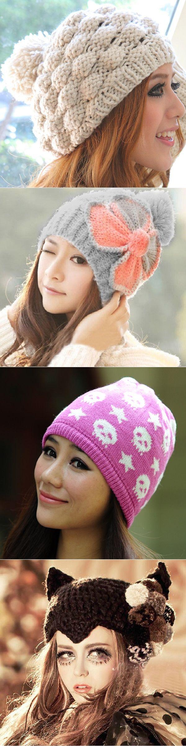 Модные вязаные шапки на зиму 2016 года для женщин: фото моделей, советы по вязанию