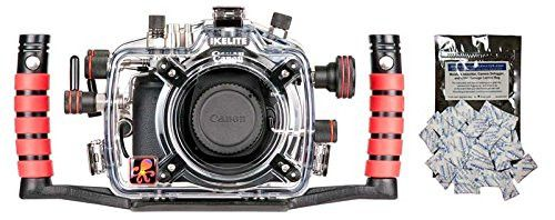 Canon EOS 70D Underwater DSLR Waterproof Camera Housing by Ikelite 6870.70